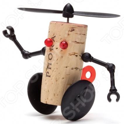 Декор для винной пробки Monkey Business Corkers Robots Вилли