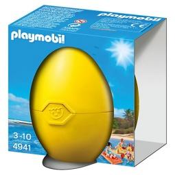 фото Конструктор для ребенка Playmobil «Яйцо: Пляжный отдых»