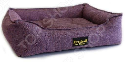 Лежак для домашних животных Pride «Прованс». Цвет: фиолетовыйДомики. Лежаки. Подстилки для собак<br>Лежак Pride Прованс предназначен специально для домашних животных. Наши питомцы требуют к себе особого внимания, поэтому к уходу за ними стоит подходить крайне ответственно. И не в последнюю очередь встает вопрос о том, где четвероногий друг будет спать или отдыхать. В ситуации, когда у кошки или собаки отсутствует спальное место, таковым становится любое в доме, включая вашу кровать. А это ведет к тому, что на обивке мебели остается шерсть, грязь и различные пятна. Лежак Pride Прованс состоит из высоких бортиков и мягкой подушки. Бортики защищают от сквозняков, а подушка дарит уют и комфорт любимому питомцу. Лежак изготовлен из полиэстера, что гарантирует долгий срок службы и простой уход. При необходимости его можно постирать. Благодаря стильному дизайну и универсальной расцветке, лежак Pride Прованс впишется в любой интерьер.<br>