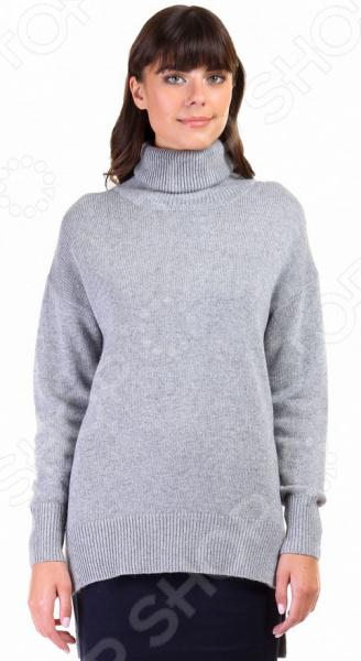 Джемпер Baon B166529. Цвет: серыйДжемперы. Кардиганы. Свитеры<br>Стильный джемпер на каждый день! Джемпер Baon B166529 это элегантная вещь из мягкой ткани, очень приятной телу. Замечательный дизайн сделает ее центральной деталью неповторимого образа, а грамотный покрой подойдет женщинам с любой фигурой. Джемпер станет изысканной частью торжественного образа, а также хорошо подойдет для повседневной работы и отдыха.  Универсальная длина прекрасно скроет недостатки фигуры, подчеркнув при этом достоинства. Если вы хотите выглядеть стильно в любое время года, то обязательно приобретите несколько разноцветных джемперов. Однотонный цвет всегда удачно гармонирует с другой одеждой. Попробуйте надеть джемпер с черным костюмом и яркий цвет станет центральной частью вашего образа. Если же вы предпочитаете стиль кэжуал , то такой джемпер всегда будет хорошо гармонировать с джинсами.  Изделие превосходно садится по фигуре, принимает исходную форму после использования, не линяет и не скатывается. Каждое изделие обрабатывается паром под давлением, за счет чего изделие приобретает свою форму и не теряет ее даже после стирки. Оцените преимущества бренда Baon  Подойдет как для повседневного ношения, так и для создания офисных образов.  Подчеркнет модность вашего гардероба.  Выполнен из качественных материалов.  Легок в уходе, не линяет, не садится при стирке.<br>
