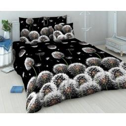 Купить Комплект постельного белья Василиса «Белые одуванчики». 1,5-спальный
