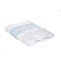 фото Полотенце Tete-a-Tete махровое Т-МП-6463. Размер: 50х90 см. Цвет: голубой, белый