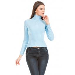 фото Свитер Mondigo 9035. Цвет: голубой. Размер одежды: 46