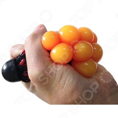 Стрессбол Family Fun «Жмяка» Стрессбол Family Fun «Жмяка» /Оранжевый/Красный