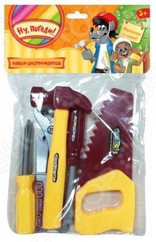 Набор инструментов игровой 1 Toy с хедером «Ну, погоди!» Набор инструментов игровой 1 Toy с хедером «Ну, погоди!» /