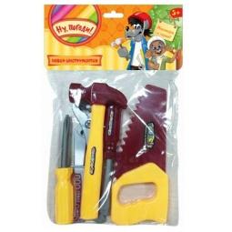 фото Набор инструментов игровой 1 Toy с хедером «Ну, погоди!»