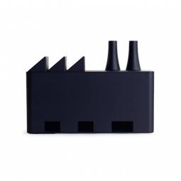 фото Органайзер для гаджетов Doiy Cable Factory. Цвет: черный