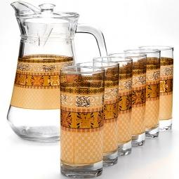 Купить Набор: кувшин и 6 стаканов Loraine LR-24066