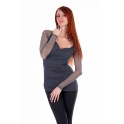 фото Кофта Mondigo 18519. Цвет: темно-серый. Размер одежды: 44