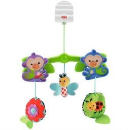 фото Набор игрушек в коляску Fisher Price PBHW59 «Обезьянки из тропического леса»