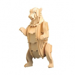Купить Конструктор 3D Education Line «Медвежонок Гризли»