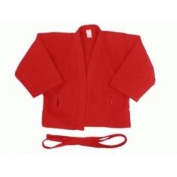 фото Куртка для самбо ATEMI AX5. Цвет: красный. Размер: 42. Плотность: 500 гр/м2