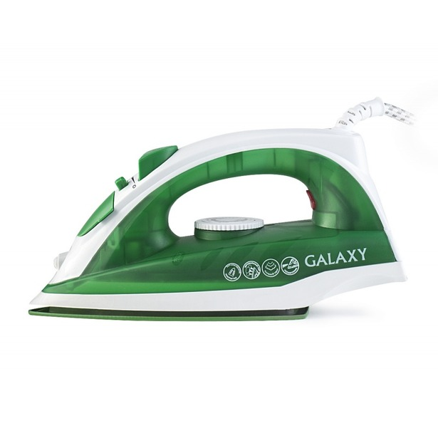 фото Утюг Galaxy GL 6121. Цвет: зеленый
