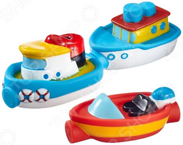 Игрушка для ванны Alex «Магнитные лодочки» игрушки для ванны playgo набор для ванной лодочки сафари