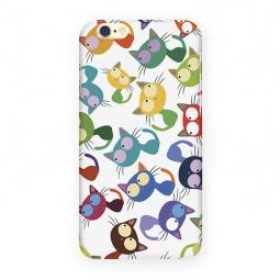 фото Чехол для iPhone 6 Mitya Veselkov «Цветные кошки»