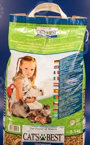 Наполнитель для кошачьего туалета Cat's Best Universal