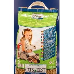 фото Наполнитель для кошачьего туалета Cat's Best Universal. Вес упаковки: 4 кг. Вместимость (в литрах): 7 л