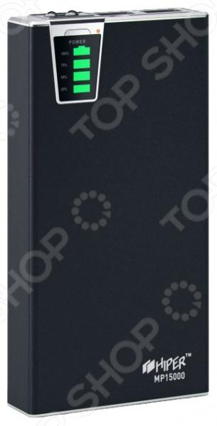 Фото - Аккумулятор внешний HIPER MP15000 внешний аккумулятор для портативных устройств hiper circle 500 blue circle500blue