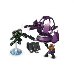 Купить Конструктор - игровой набор Mega Bloks «Десантники и военная башня Halo»