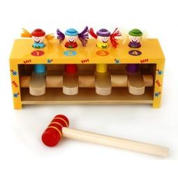 фото Игра развивающая Mapacha «Прыгающие клоуны»