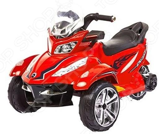 Трицикл детский электрический 1 Toy Т58706Детские электромобили<br>Трицикл детский электрический 1 Toy Т58706 подарит ребенку огромное количество положительных эмоций, ведь он станет обладателем собственного автомобиля. Трицикл практически ничем не отличается от своего настоящего собрата : он оснащен мощными колесами, за счет чего обеспечивается прекрасная проходимость никакие ухабы и ямы теперь не страшны. Трицикл представлен в яркой расцветке, украшен оригинальными рисунками. Ребенок обязательно оценит такой красочный дизайн, который будет выделять его машину среди многих других. А наличие MP3-магнитолы поможет наслаждаться любимыми песенками прямо во время поездки. Точно, как это делают взрослые! Мощность мотора 35Вт, количество сидячих мест 1.<br>