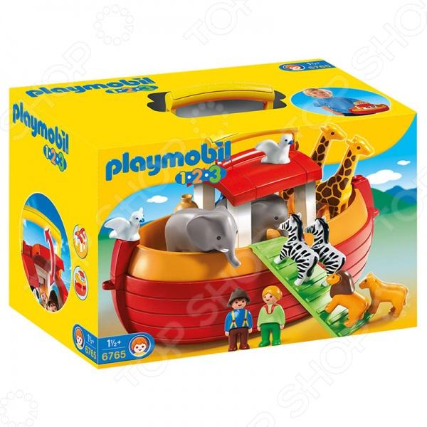 Конструктор игровой Playmobil 6765 «Возьми с собой. Ноев Ковчег» playmobil® возьми с собой пляжное бунгало playmobil