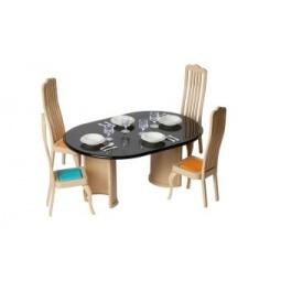 Купить Набор мебели игрушечный Огонек для столовой «Коллекция»