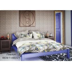 фото Комплект постельного белья Волшебная ночь «Павлин». 1,5-спальный. Размер наволочки: 40х40 см, 50х70 см — 2 шт. Тип ткани: сатин-роял