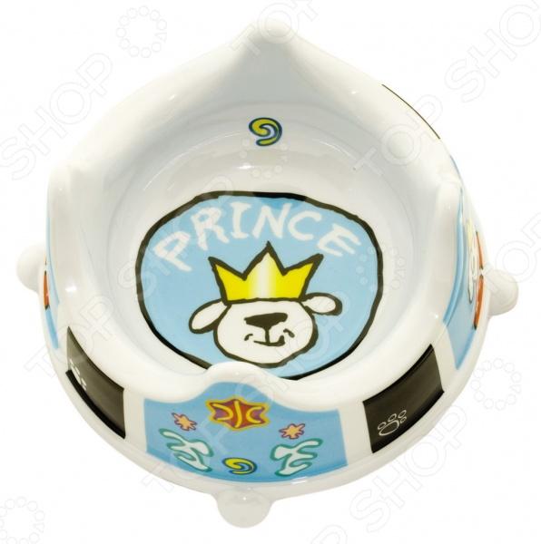 Миска для собак DEZZIE Prince миска для кошек разноуровневая dezzie охотник