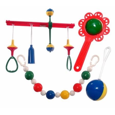 Купить Набор игрушек-погремушек Аэлита «Беззаботное время». В ассортименте