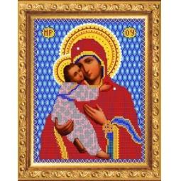 Купить Набор для вышивания бисером Светлица «Богородица Владимирская»