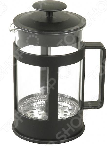Френч-пресс Rosenberg RPG-660005-LФренч-прессы<br>Френч-пресс Rosenberg RPG-660005-L используется для приготовления чая и кофе путем настаивания и последующего отжима заваренного напитка при помощи специального поршня. Корпус модели выполнен из пластика, а колба из, устойчивого к перепадам температур, стекла. Френч-пресс снабжен ручкой и носиком для удобства наливания напитков. Торговая марка Rosenberg это синоним первоклассного качества и стильного современного дизайна. Компания занимается производством и продажей кухонных инструментов, аксессуаров, посуды и т.д. Функциональность, практичность и инновационные решения вот основные принципы торгового бренда Rosenberg.<br>