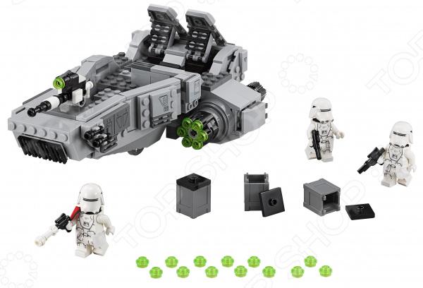 Конструктор игрушечный LEGO «Снежный спидер Первого ордена»Конструкторы LEGO<br>Конструктор игрушечный Lego Снежный спидер Первого ордена отличный подарок как для детей, так и взрослых. За десятки лет существования бренд успел завоевать любовь миллионов людей по всему миру, ведь компания с большим вниманием относится к созданию своей продукции. Они постоянно воплощают новые идеи, при этом концепция деталей остается практически неизменной. Это означает, что элементы разных наборов совместимы между собой. Конструкторы такого типа развивают пространственное и логическое мышление, фантазию, творческие способности и мелкую моторику рук. А с каждым новым набором в коллекции будут расширяться варианты игровых сценариев.<br>