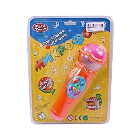 Купить Игрушка музыкальная Shantou Gepai «Микрофон. Поем вместе» 7043