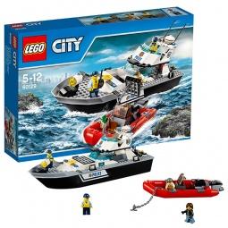 фото Конструктор игровой для ребенка LEGO «Полицейский патрульный катер»