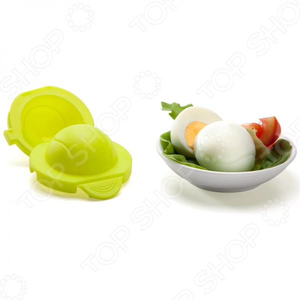 Форма для яйца Monkey Business Теннис станет отличным дополнением к вашему набору кухонных принадлежностей. С ней даже самый обычный салат или тост превратится в настоящее произведение кулинарного искусства. Пресс-форма выполнена в виде теннисного мячика из высококачественного пищевого пластика, удобна и практична в использовании. Способ применения: варите яйцо, достаньте его из горячей воды, очистите и как можно быстрее поместите в форму. Затем, плотно защелкнув её, опустите в холодную воду на некоторое время. Вот и всё, готово!