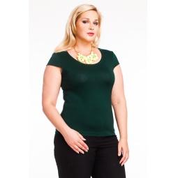 фото Футболка Mondigo XL 7001. Цвет: темно-зеленый. Размер одежды: 48
