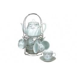 фото Чайный набор на подставке Grazie «Этюд-13»