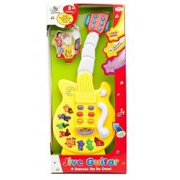 фото Игрушка музыкальная для ребенка Shantou Gepai «Электрогитара» 012