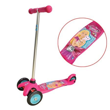 Купить Самокат трехколесный 1 Toy Т57618 «Barbie»