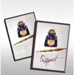 фото Обложка для паспорта Феникс-Презент «Чернильница»