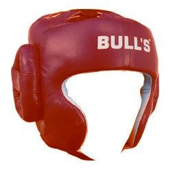 фото Шлем боксерский ATEMI HG-11019 красный
