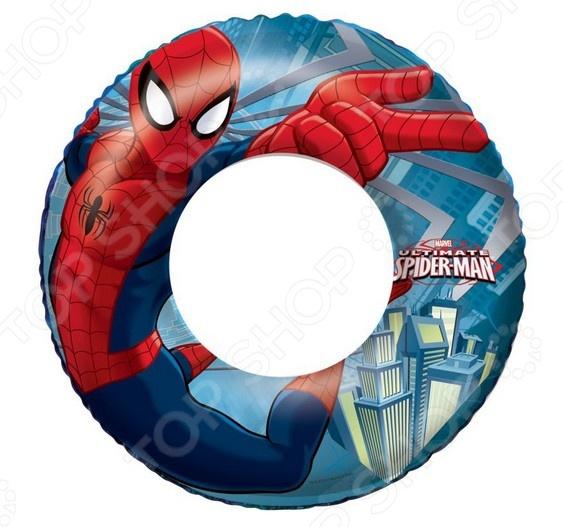 Круг надувной Intex 98003 «Спайдермен» intex надувной круг для плавания 76 см