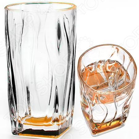 Набор стаканов Loraine Square Bottom