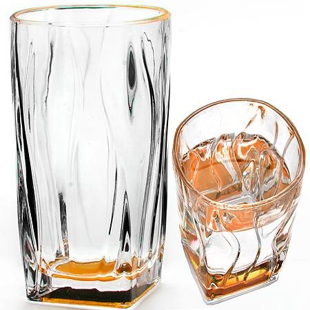 Купить Набор стаканов Loraine Square Bottom