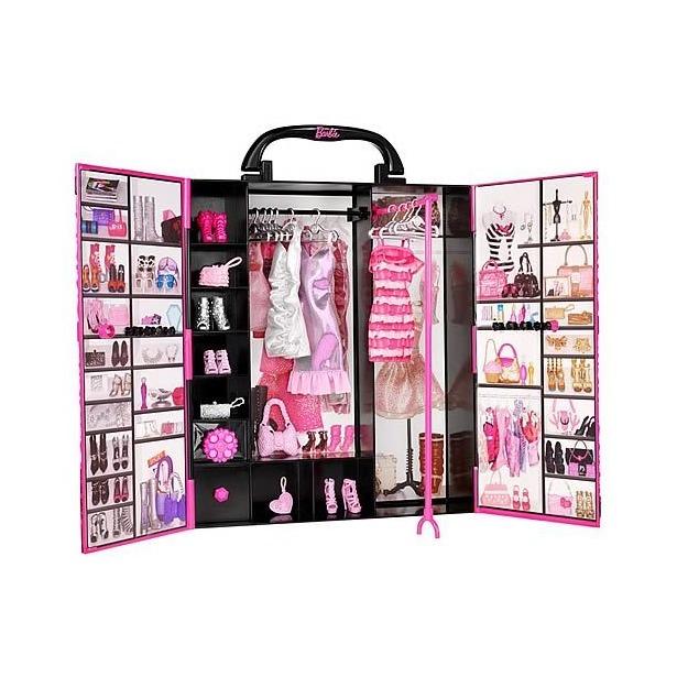 фото Шкаф для одежды Mattel для Barbie