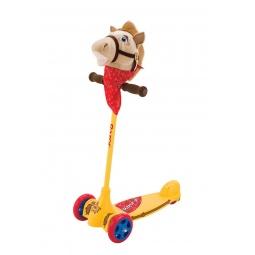 фото Самокат трехколесный Razor Kixi Kuties. Рисунок: ковбой