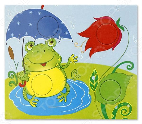 Игра настольная обучающая Радуга «Цвет» игра настольная обучающая lisciani сказочная игра