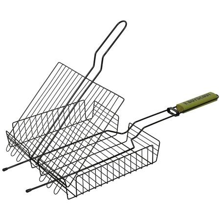 Купить Решетка-гриль универсальная с антипригарным покрытием BOYSCOUT