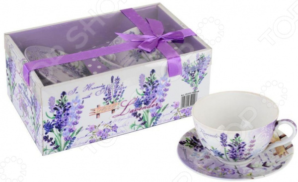 Чайная пара Gift'n'Home «Лаванда»